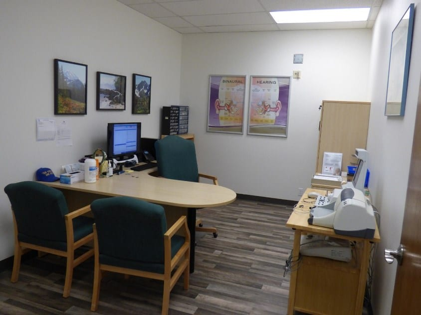 Audiologist office
